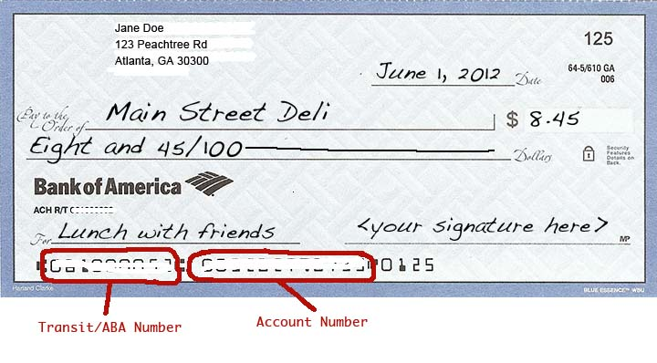 how to write a check for rent