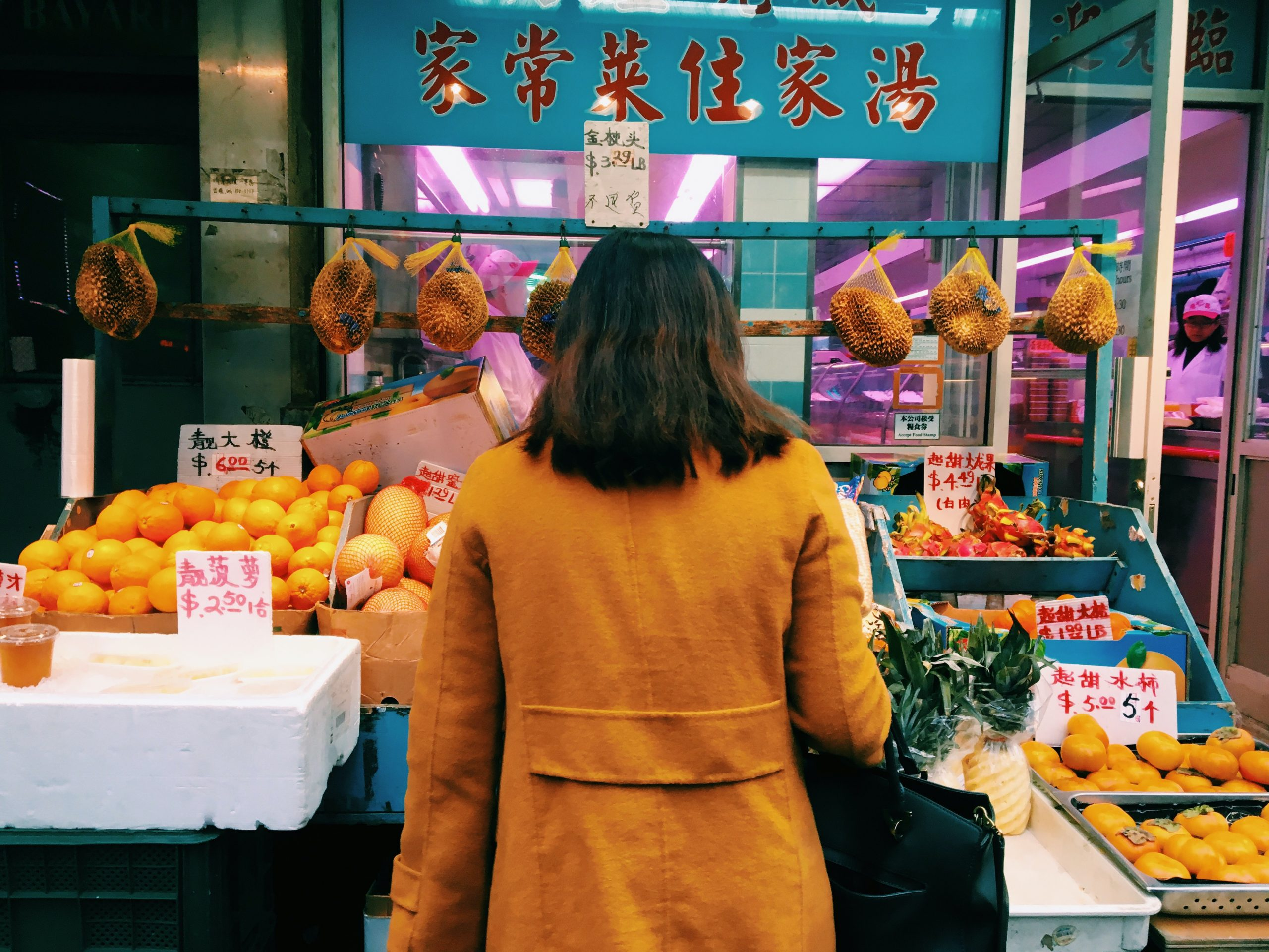 Girl in Chinatown