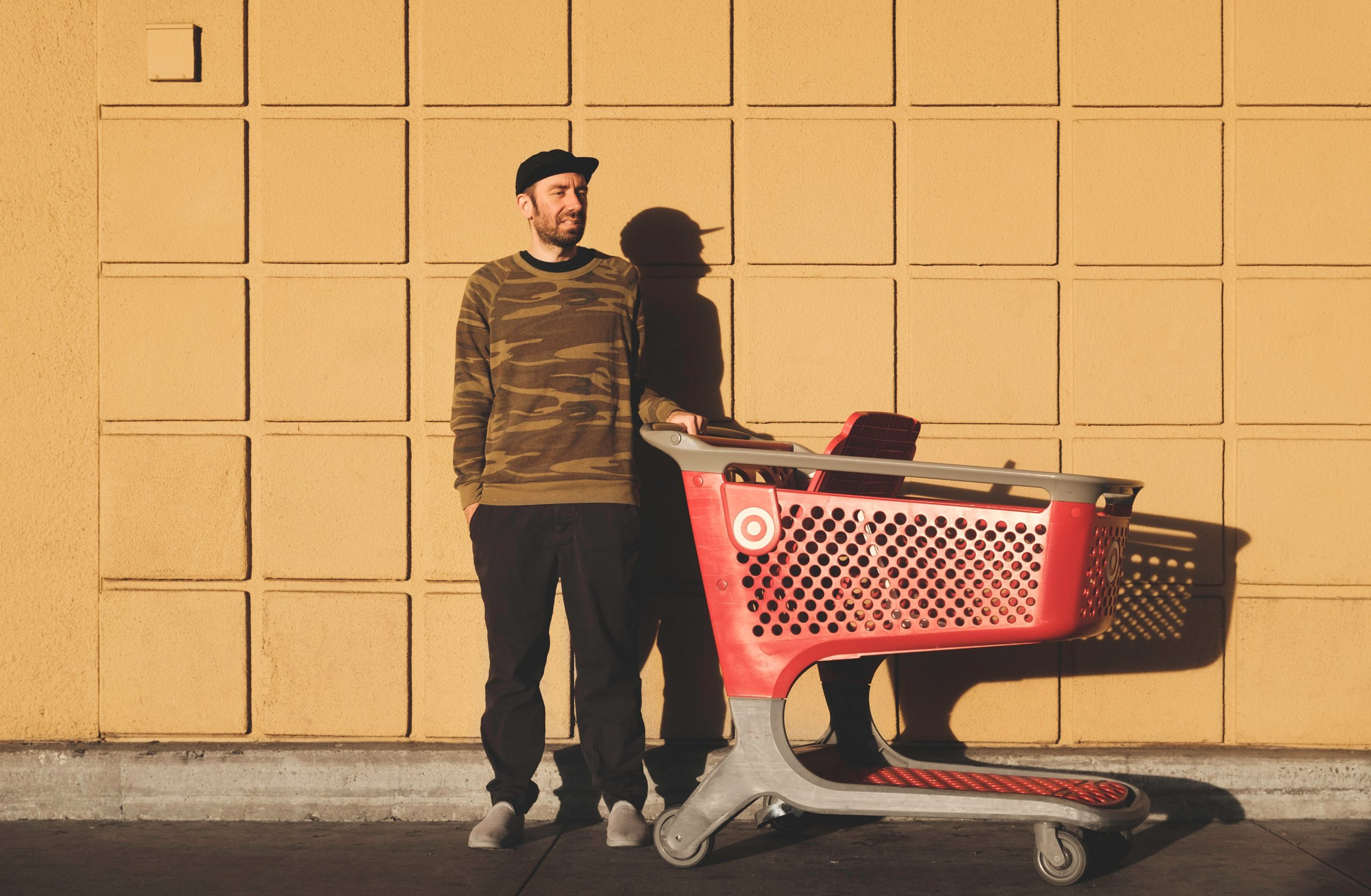 It makes the most sense to have a shopping cart when going shopping.