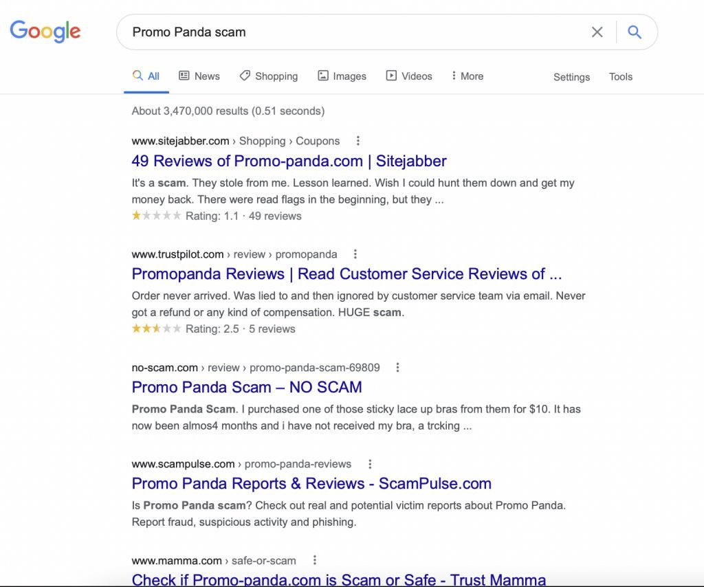 promo panda is not a scam