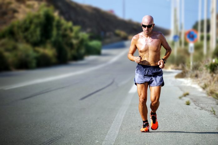 man, jogging, exercise