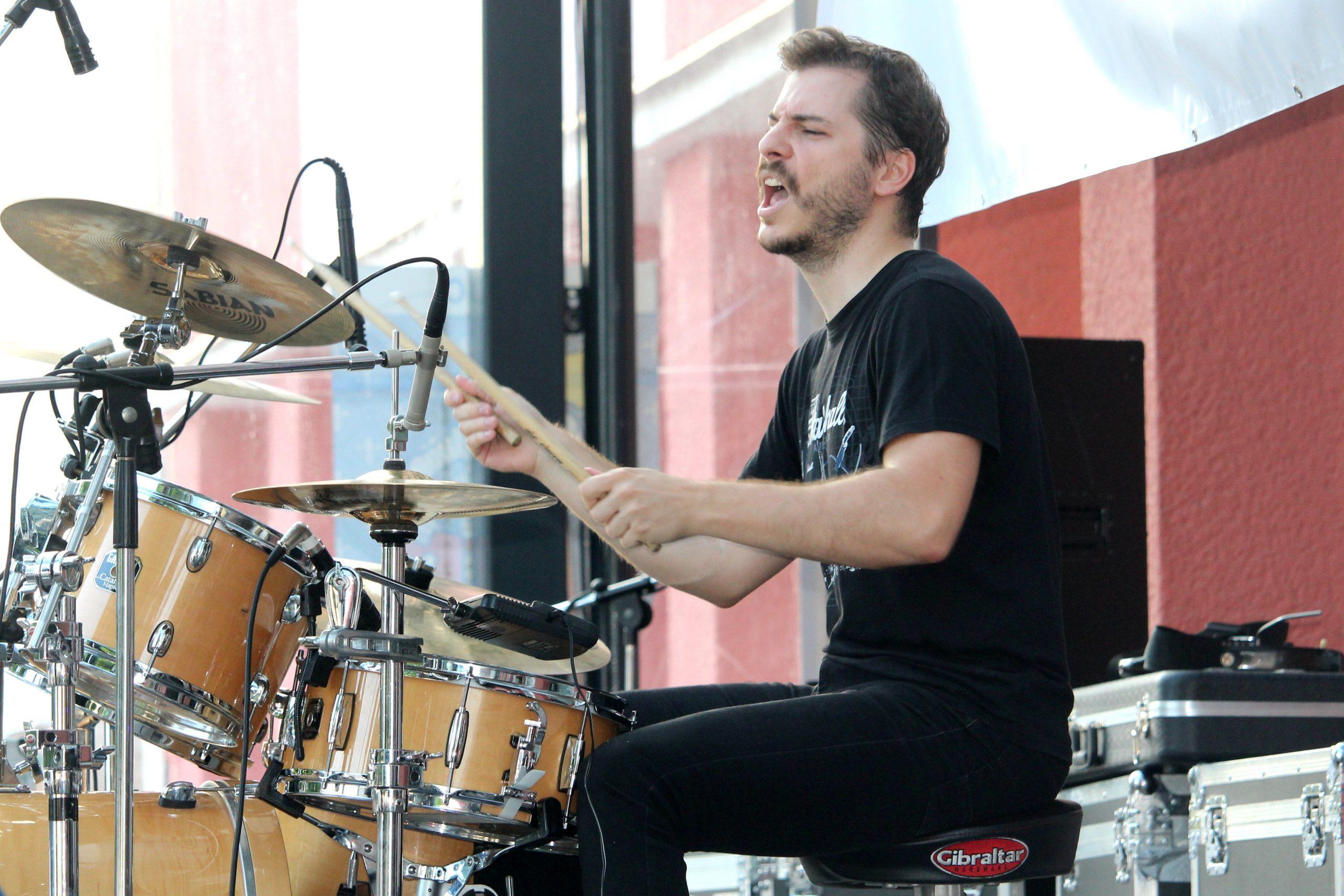 music, drums, drummer